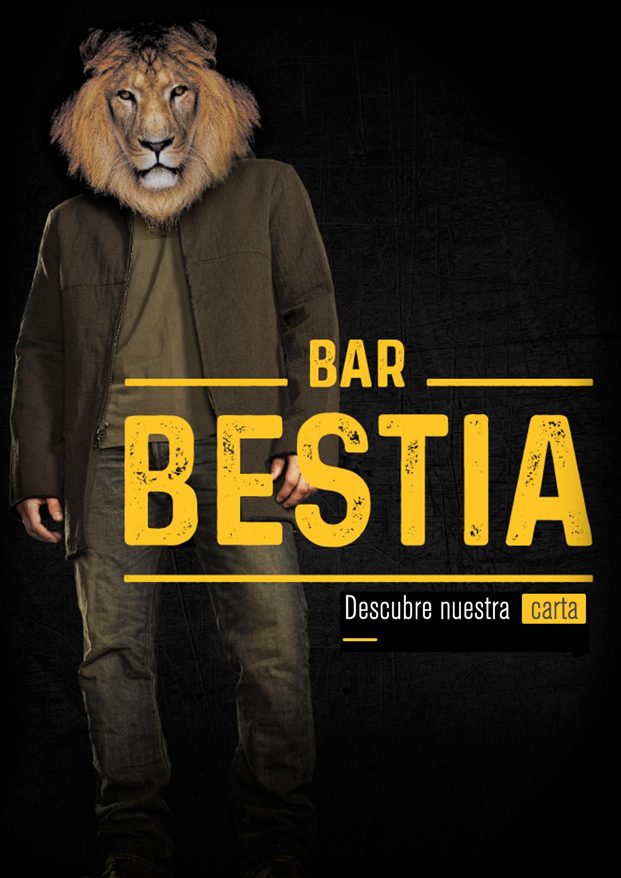 Carta Bar Bestia